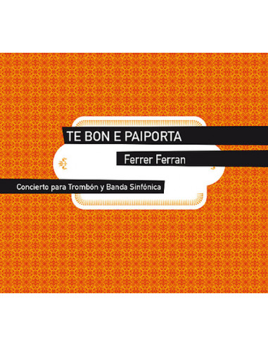 Te Bon a Paiporta Score and Parts