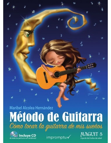 Método de guitarra Maguit 5: a partir...