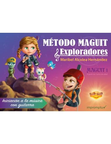 Método de guitarra Maguit 1: A partir...