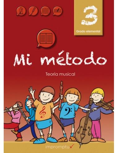 Mi Método 3 libro de teoría
