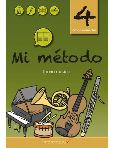 Mi Método 4 libro de teoría