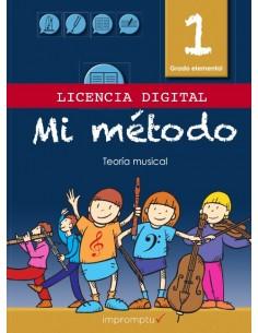Licencia Digital - Mi Método 1