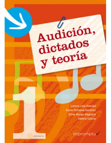 Audición, dictados y teoría 1 Con CD