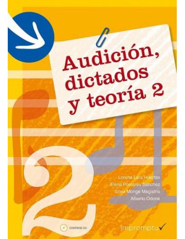 Audición, dictados y teoría 2 Con CD