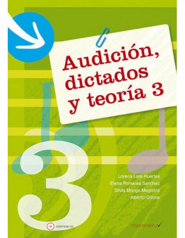 Audición, dictados y teoría 3 Con CD