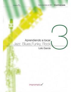 Aprendiendo a tocar jazz,...