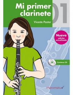 Mi primer clarinete 1 con CD